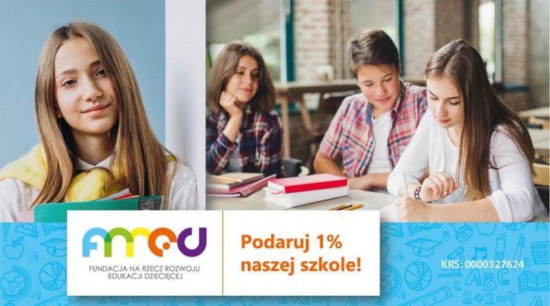 Fundacja na rzecz Rozwoju Edukacji Dziecięcej FRRED 1% PODATKU
