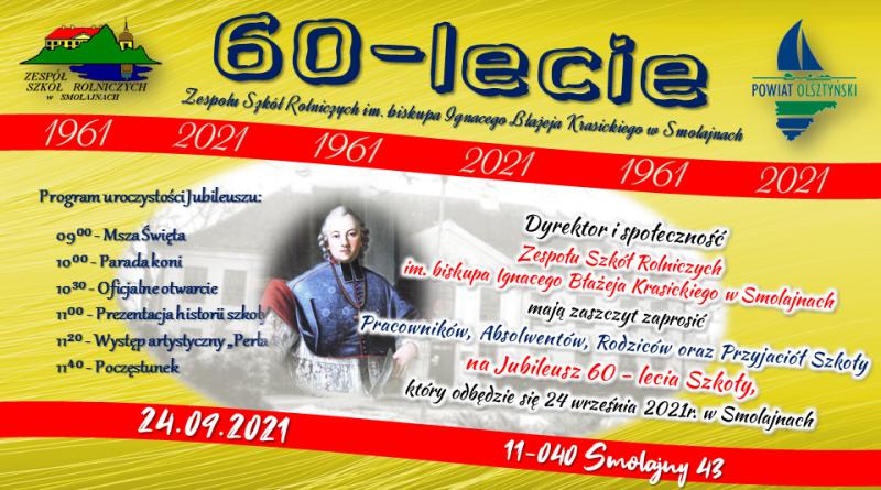 60 – lecie ZSR w Smolajnach 24.09.2021